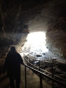 Mammoth Cave enterance.