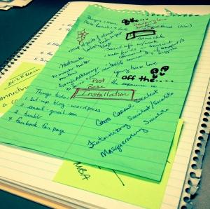 What brainstorming looks like.