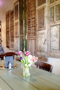 What would you do with a bunch of old shutters?